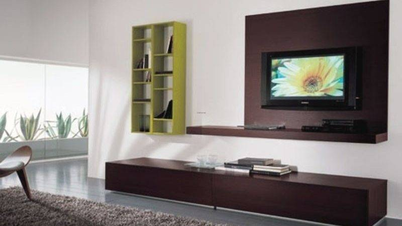 Spacious Living Room Wall Mount Ideas Interior