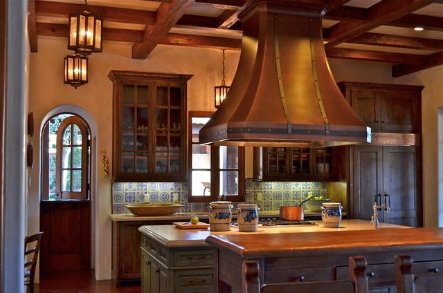 Spanish Style Home Traditional Kitchen San Francisco