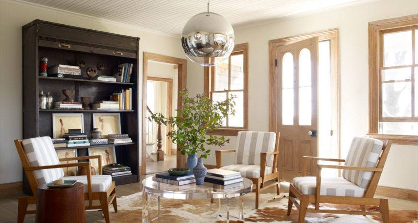 Spare Modern Country Chic Elle Decor