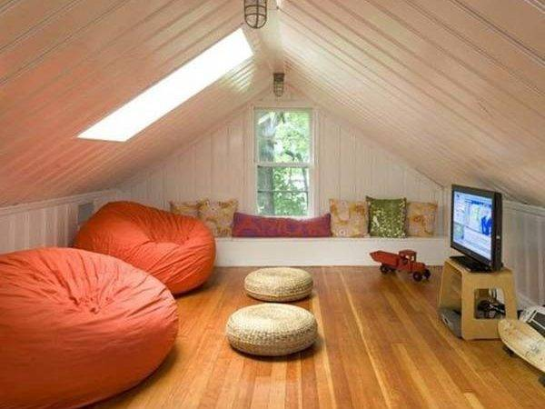 Spectacular Design Ideas Unused Attic Space