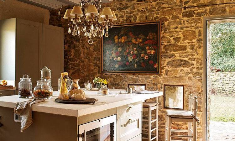 Spectacular Interior Stone Wall Design Ideas Designmaz