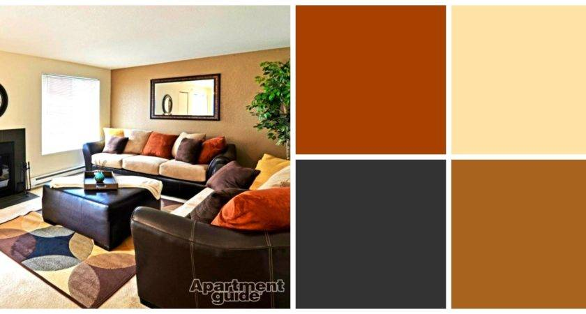 Spectacular Likable Earth Tone Paint Apartment Living
