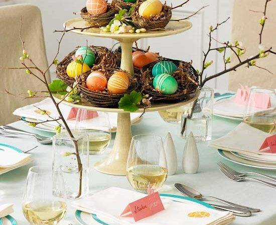 Spring Centerpieces Table Settings New Ideas