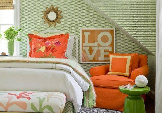 Spruce Your Bedroom Pantone Color Palette