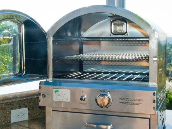 Stainless Outdoor Built Oven Pacific Living