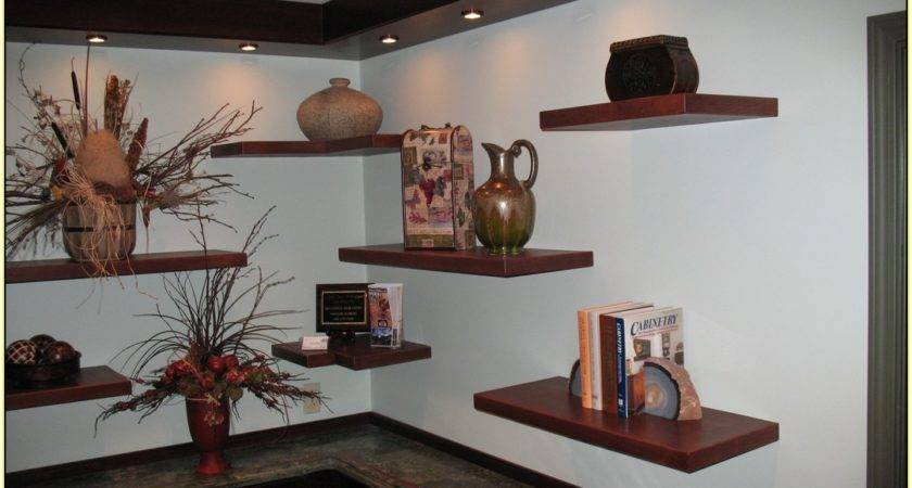 Stainless Steel Floating Shelves Home Design Ideas