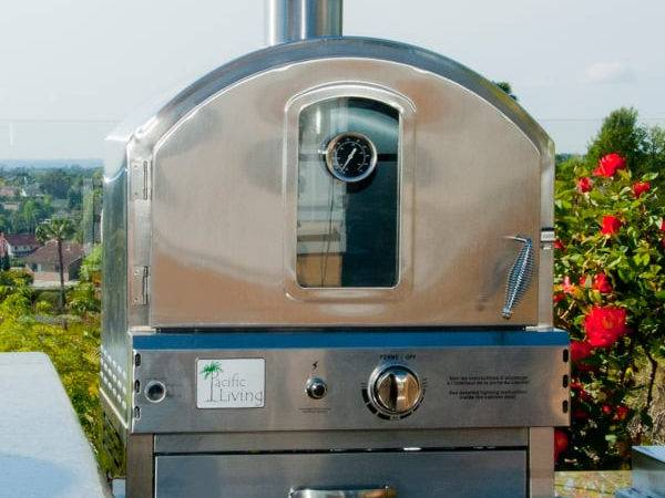 Stainless Steel Outdoor Built Oven Pacific Living