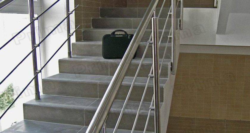 Stainless Steel Railings Concrete Stairs Buy