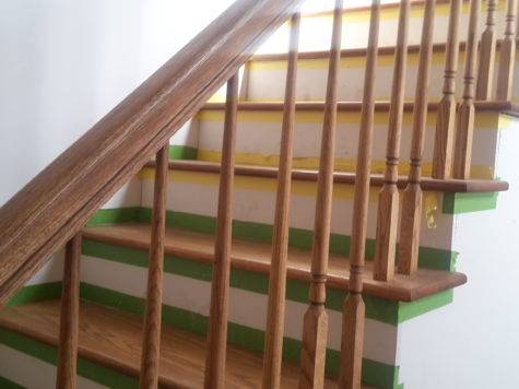 Stair Railing Height Decks Ramps Interiors