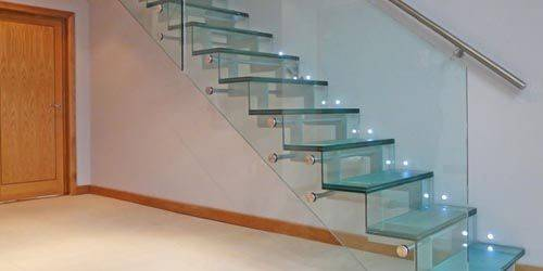 Stair Railings Beautiful Glass Railing Designs Steel