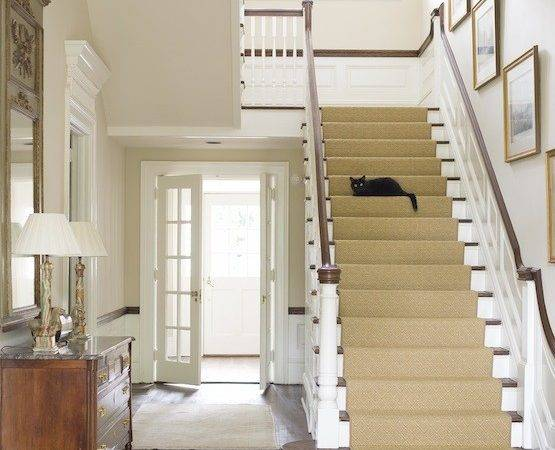 Staircase Art Traditional Entrance Foyer