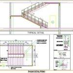 Staircase Railing Design Plan