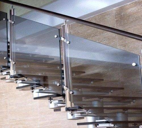 Staircase Steel Rail Designs Brandonemrich