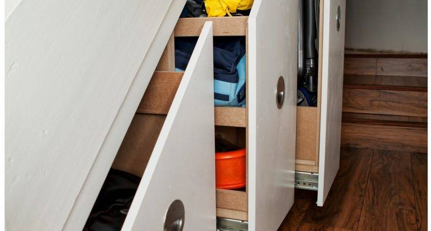Staircase Under Stairs Storage Ideas Modern