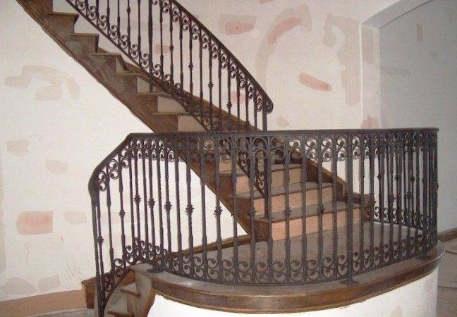 Stairs Amazing Indoor Wrought Iron Railings Cool