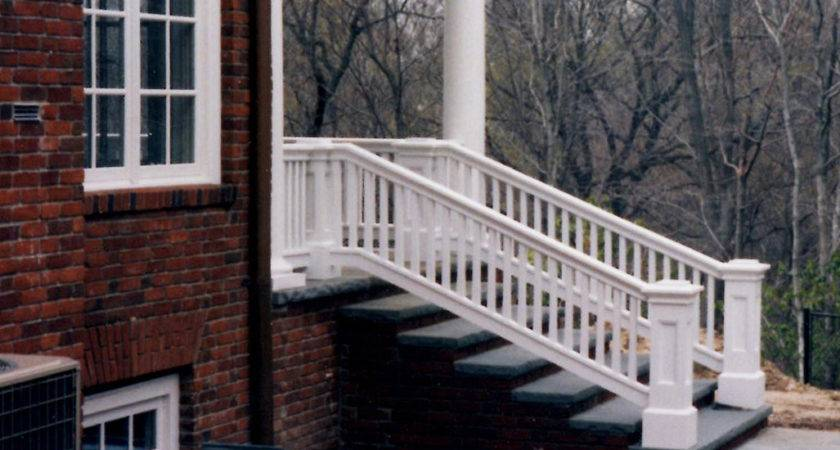 Stairs Extraordinary Outdoor Stair Railing Ideas