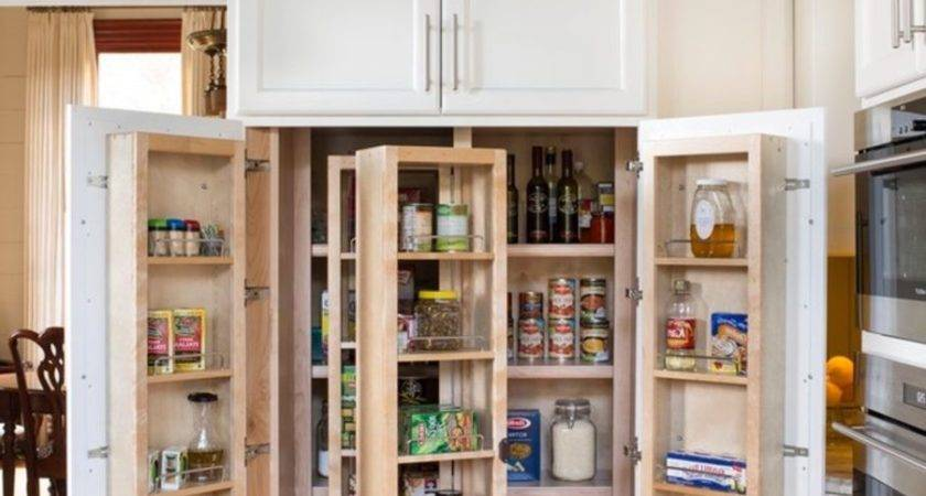Standalone Kitchen Storage Pantry Armoire Small
