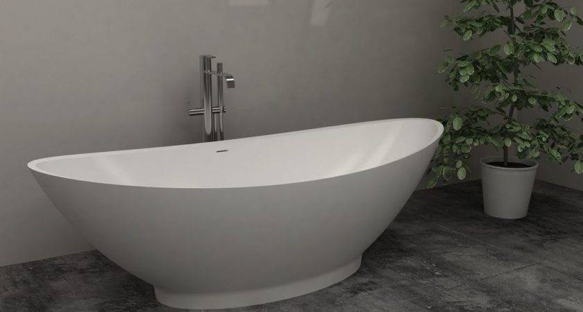 Standing Bath Tub Soaking Bathtub Freestanding