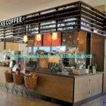 Starbucks Coffee Store Furniture Mobile Bar
