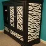 Stare Must Paint Zebra Furniture