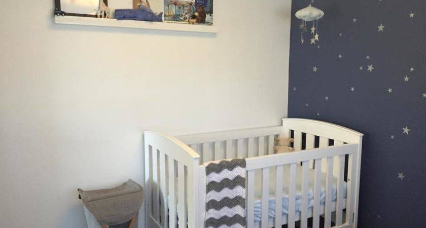Starry Nursery Much Awaited Baby Boy Project