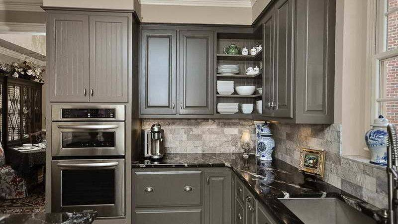 Steps Choosing Right Gray Kitchen Cabinets