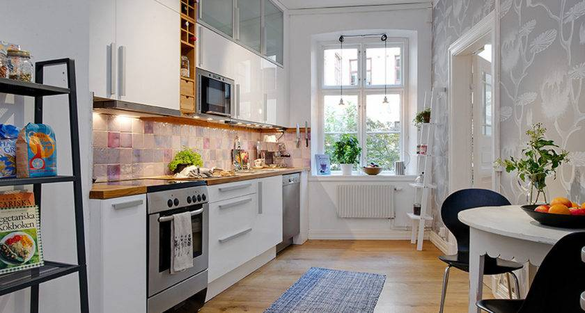 Steps Decorating Apartment Kitchen Small Cost
