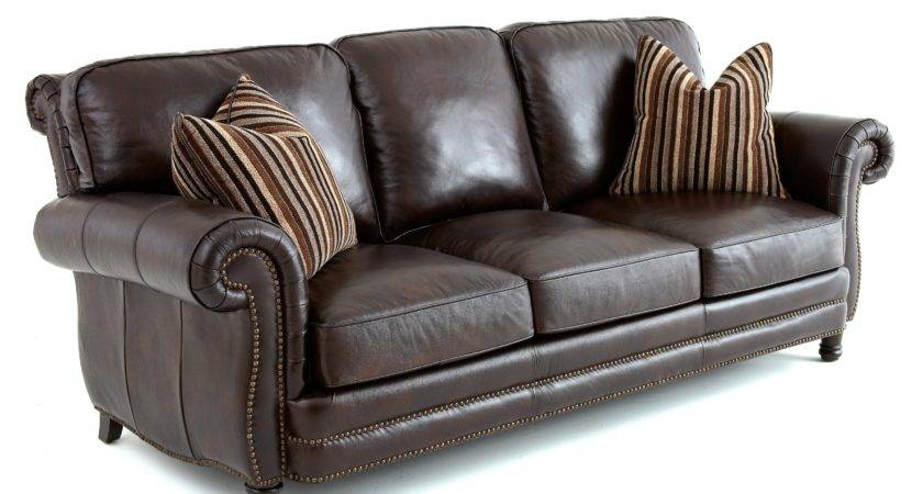 Steve Silver Chateau Leather Sofa Accent Pillows