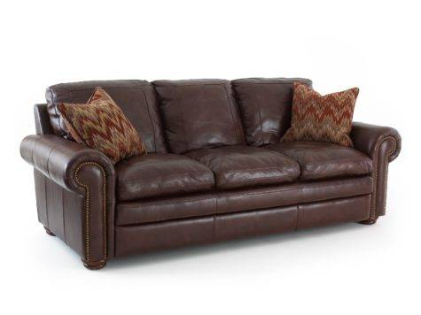 Steve Silver Yosemite Leather Sofa Accent Pillows