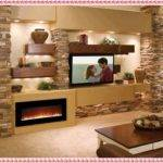 Stone Fireplace Mantel Decor Design Ideas