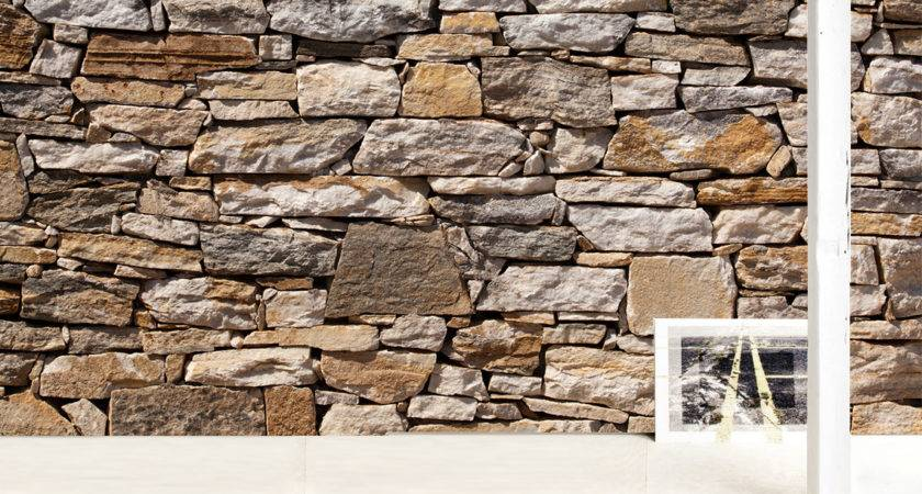 Stone Wall Decals Wallmonkeys