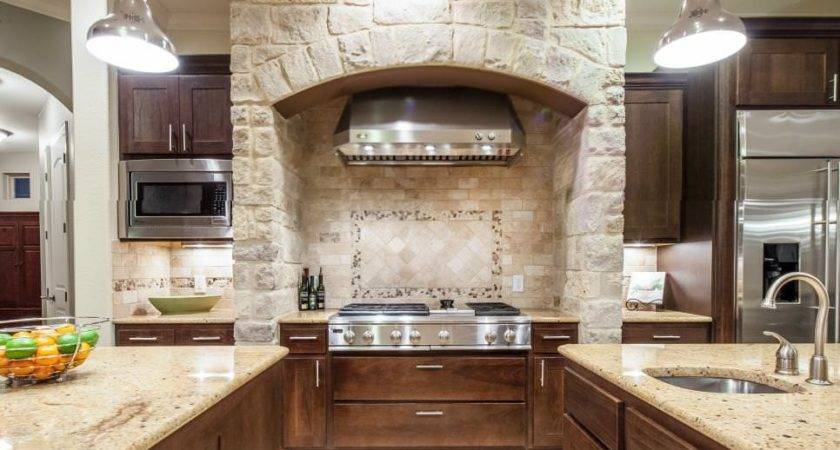 Stone Walled Kitchen Designs Decorating Ideas