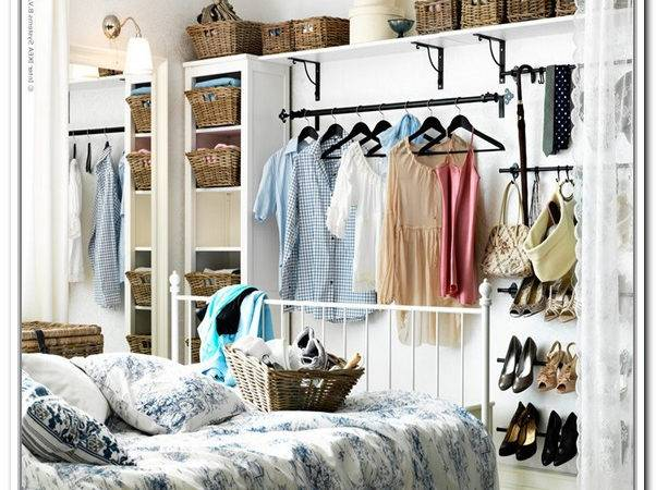 Storage Ideas Small Bedrooms Closet Home
