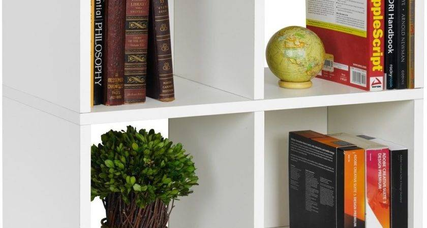 Storage Ideas Small Spaces Bookcase Cubby Organizer