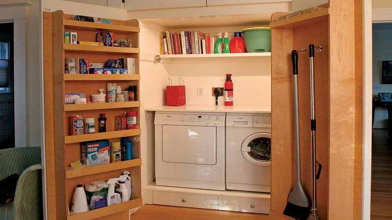 Storage Small Space Ideas Laundry Room