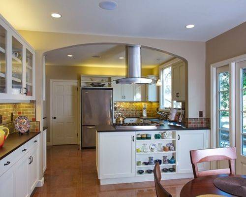 Stove Peninsula Houzz
