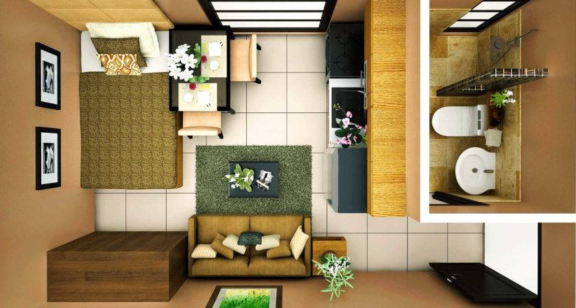 Studio Type Condominium Interior Design