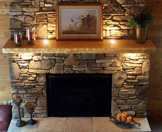 Stunnign Stone Artistic Classical Contemporary Fireplace