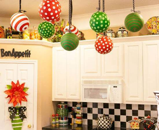 Stunning Christmas Kitchen Decorating Ideas All