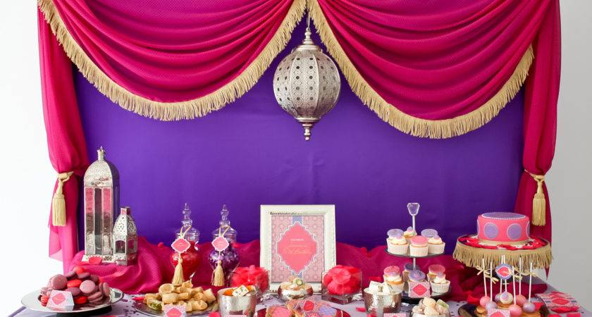 Stunning Moroccan Birthday Party Anders Ruff Custom