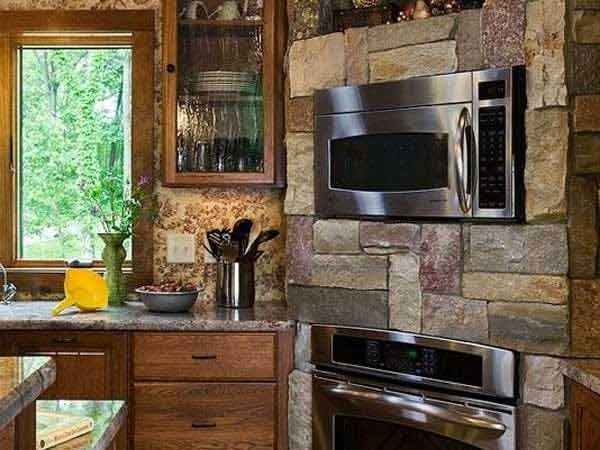 Stunning Stone Kitchen Ideas Bring Natural Feel Into