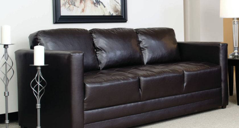 Stunning Worn Leather Couches Living Room Brown