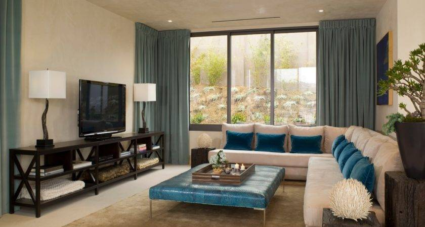 Stupendous Teal Window Treatments Decorating Ideas