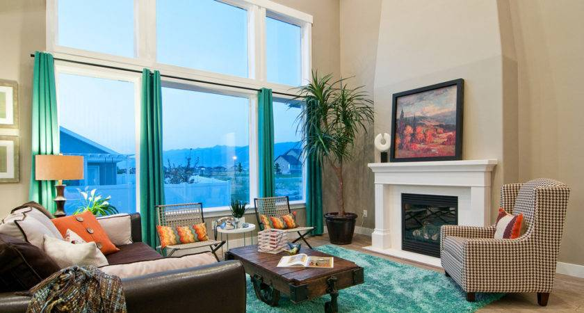 Stupendous Turquoise Curtains Decorating Ideas Living