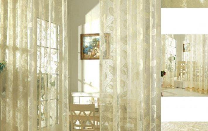 Style Beautiful Color Curtains Goes Beige