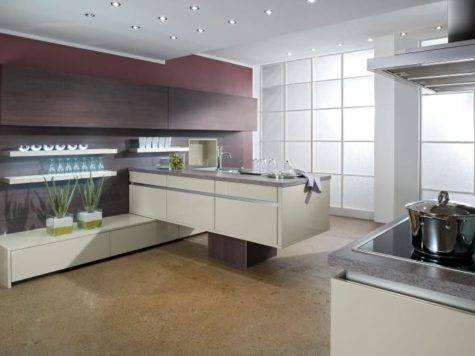 Stylish Contemporary Kitchens Bauformat