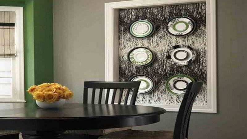 Stylish Dining Room Wall Decorating Ideas
