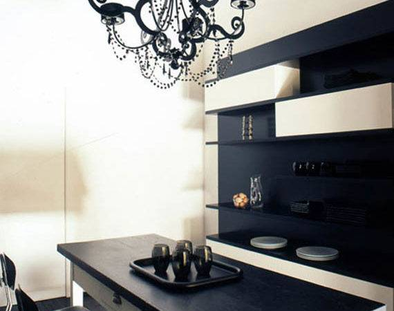 Stylish Home Black White Interiors