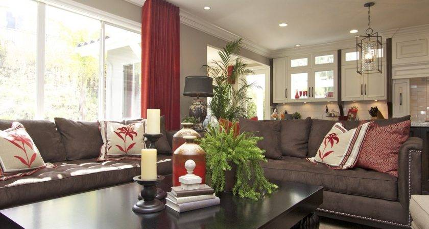 Stylish Transitional Room Robeson Design San