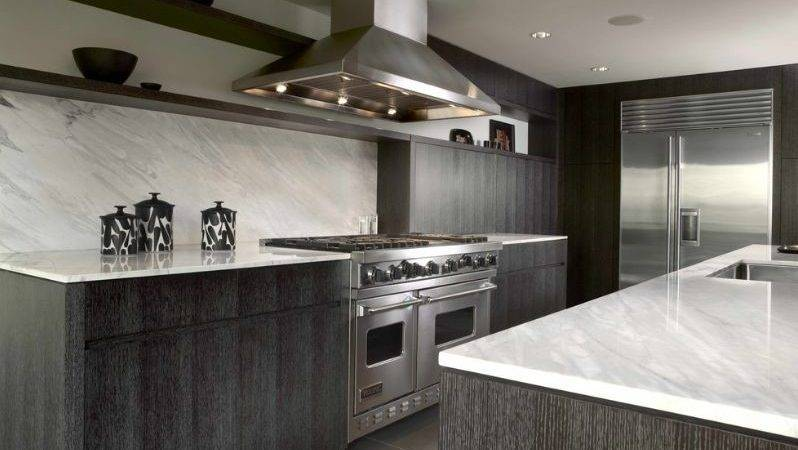 Stylish Ways Work Gray Kitchen Cabinets